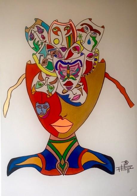 Philippe Seigle - Golden mask