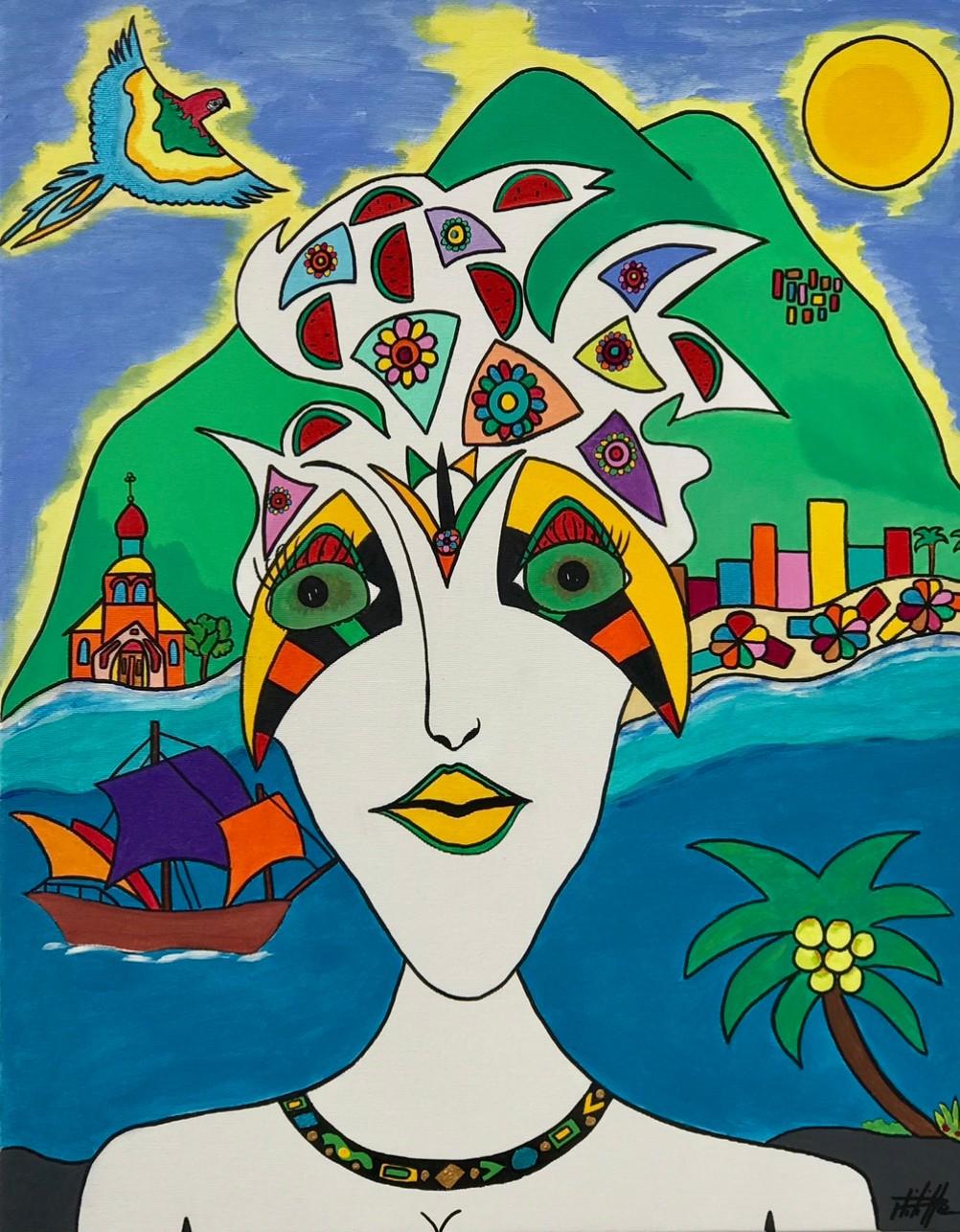 Philippe Seigle - A garota do sol